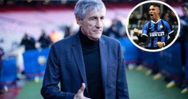 Setien pa dorashka: Lautaro mund të jetë shumë i mirë për Barcelonën