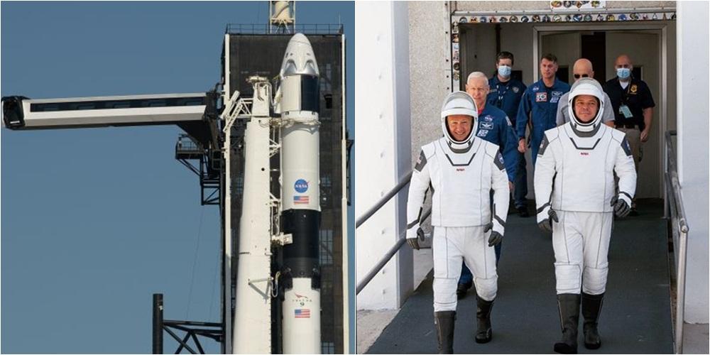 Pas 9 vitesh pauzë, NASA dhe kompania e Elon Musk gati të bëjnë histori