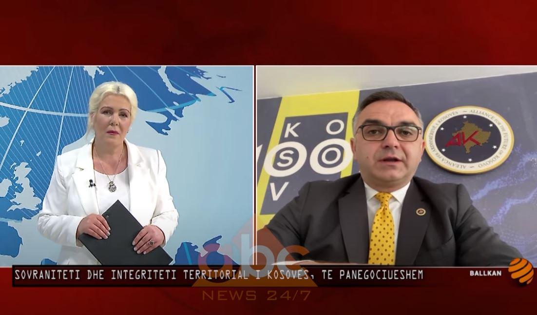 Besnik Tahiri: Sovraniteti dhe integriteti territorial i Kosovës, të panegociueshëm