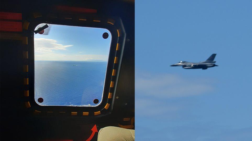 FOTO/ Dy avionë turq i sulen helikopterit të ministrit të Mbrojtjes së Greqisë, pamje nga incidenti