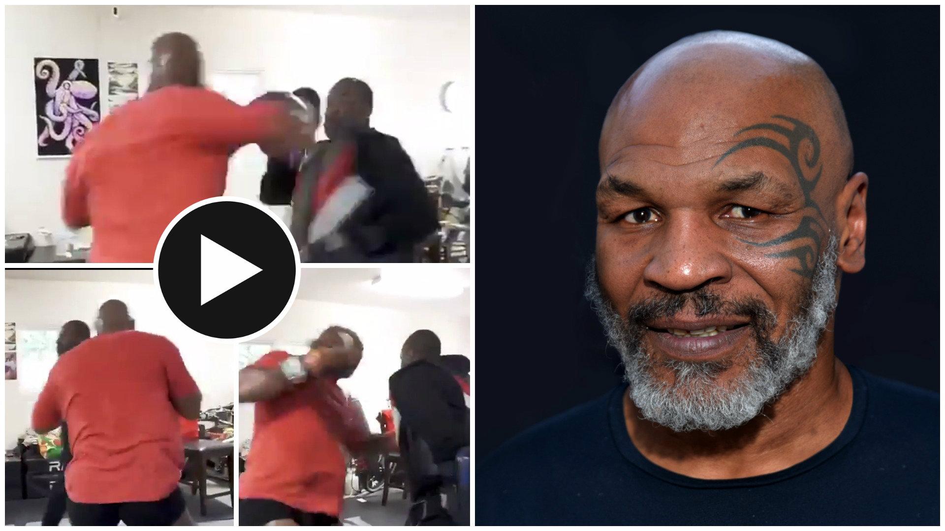 """VIDEO/ """"Djalë i keq përjetë"""", bisha Mike Tyson në formë edhe 53 vjeç"""