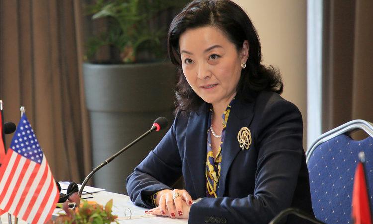 Sfidat e Bizneseve nga COVID-19, ambasadorja e SHBA mbledhje me përfaqësuesit e Dhomës Amerikane
