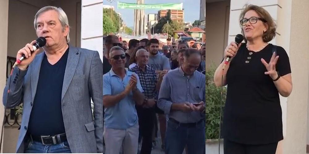 """""""Populli të vendosë për demokracinë"""", aktorët njëzëri: Qytetarët ta çojnë në këmbë teatrin"""