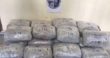Shqiptari kapet me mbi 20 kg marijuanë, pranga dhe bashkëpuntorit grek