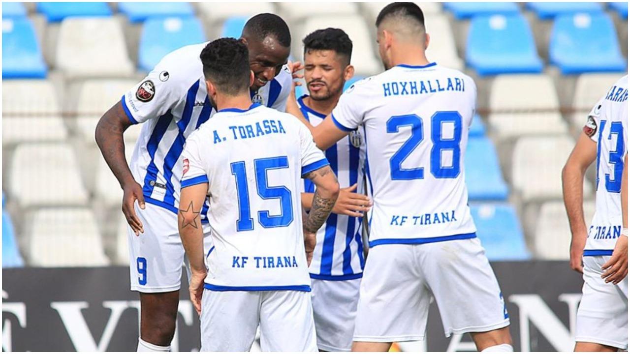 Fitorja e Laçit i ngre humorin, Tirana ironizon me rivalët për titull