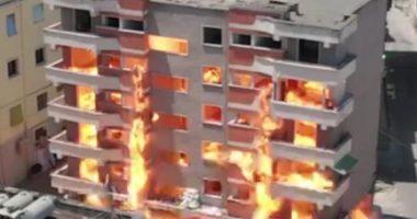 VIDEO/ Shpërthimi me eksploziv i pallatit, dëmton banesat e tjera në Durrës