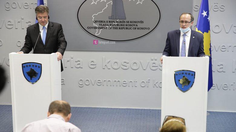 Hoti takon Lajçak: Qeveria e gatshme për rifillimin e dialogut me Serbinë
