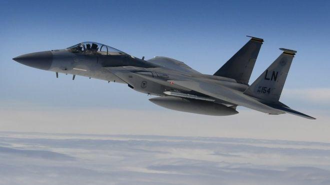Avioni amerikan rrëzohet në Detin e Veriut, ende asnjë gjurmë nga piloti
