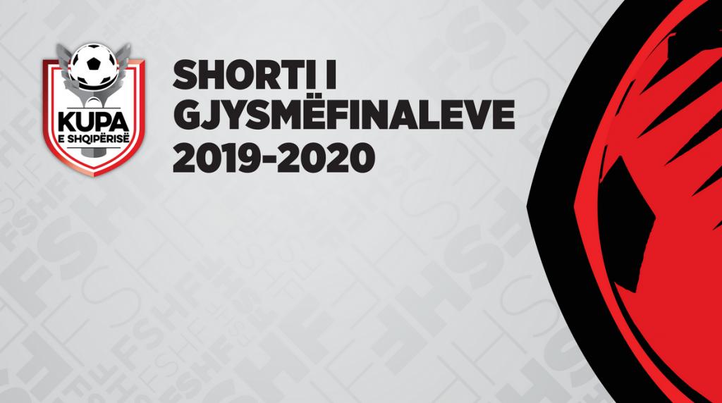 Gjysmëfinalet e Kupës së Shqipërisë, FSHF me njoftim për shortin