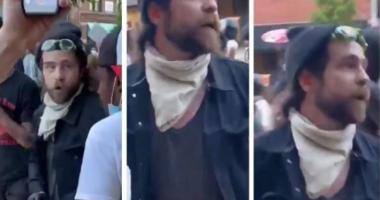 VIDEO/ U filmua duke i dhënë para protestuesve për të shkaktuar incidente në SHBA, policia i vihet në kërkim