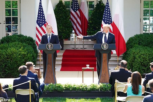 Trump: Ushtarët që do të largohen nga Gjermania, do të shkojnë në Poloni