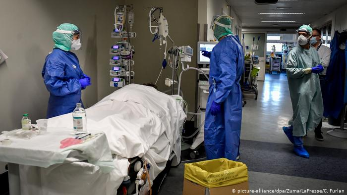 Rritet numri i të infektuarve dhe viktimave nga Covid 19 në 24 orë në Itali