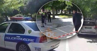 E përplasi makina, këmbësori në gjendje të rëndë në Korçë