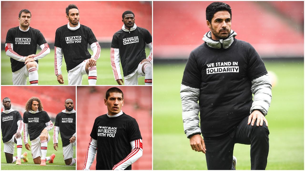 Më shumë se një klub, Arsenali me një mesazh fantastik kundër racizmit!