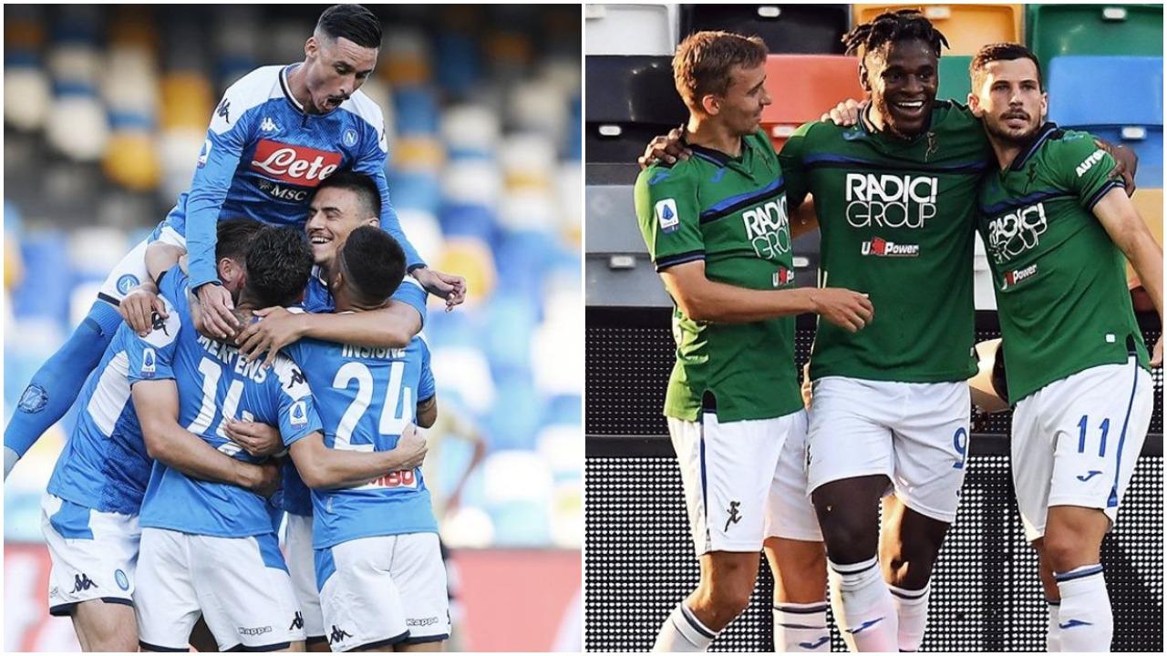 VIDEO/ Lumë golash në Serie A, festojnë Atalanta dhe Napoli