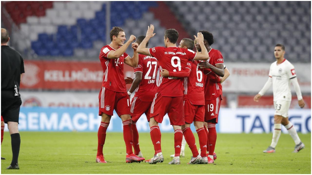 VIDEO/ Bayern në finalen e Kupës, Lewandowski si gjithmonë vendimtar!
