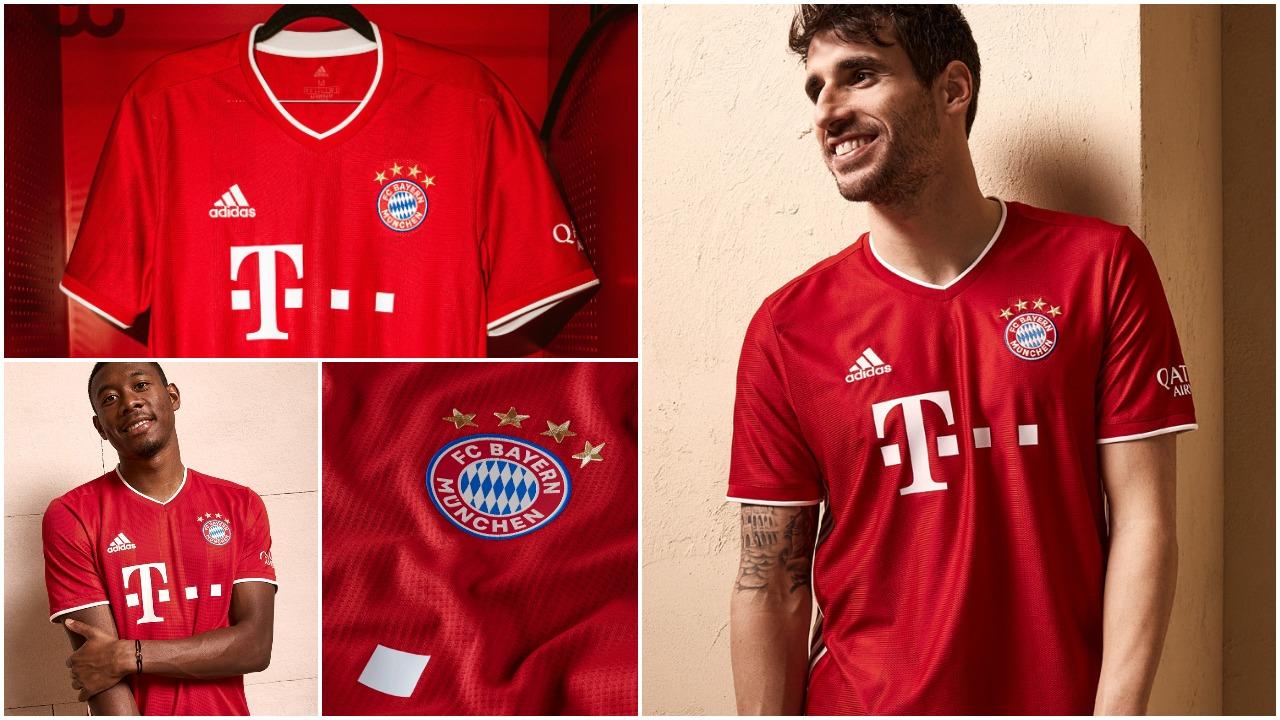 FOTO/ Fanellat e reja të Bayernit, Adidas me një dizajn fantastik!