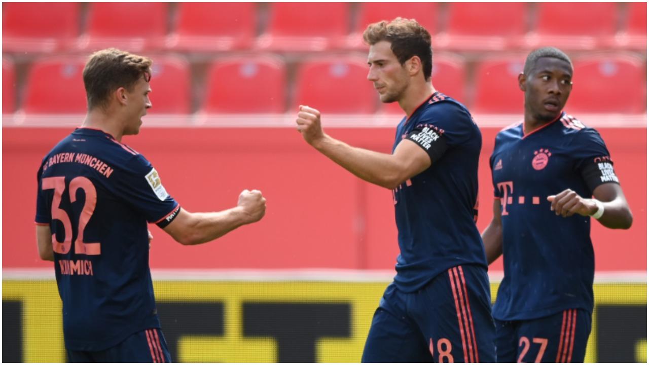 VIDEO/ Bayern i pamëshirshëm, Goretzka-Gnabry fundosin Leverkusen