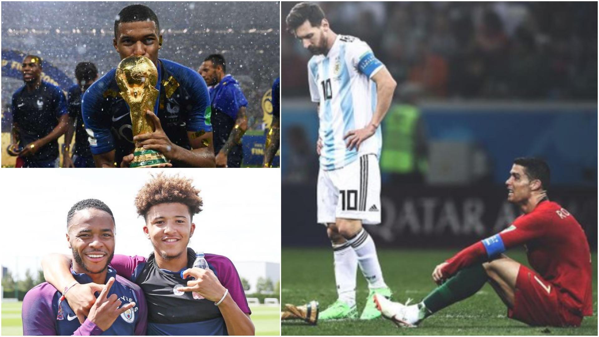 """Futbollistët më të shtrenjtë/ Mbappe ndiqet nga anglezë, """"zhduken"""" Messi-CR7"""