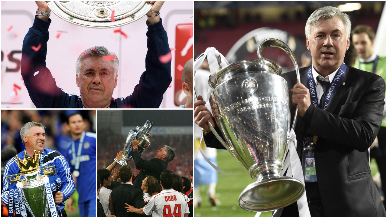 """Ndoshta më i miri në histori, ditë e veçantë për """"Don"""" Carlo Ancelottin"""