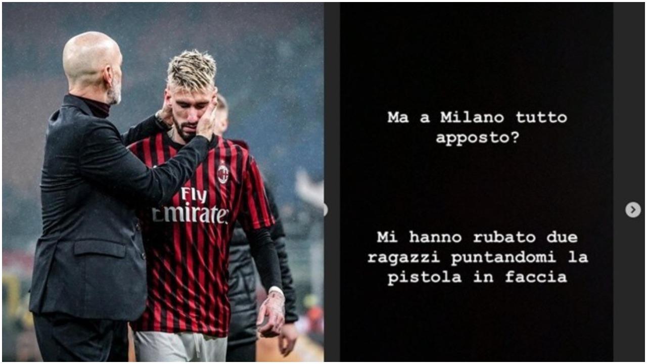 Lajm i frikshëm nga Italia, ylli i Milanit sulmohet me armë!