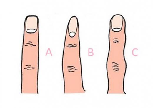 Forma e gishtërinjve zbulon aspekte intime të njerëzve që nuk i dinim