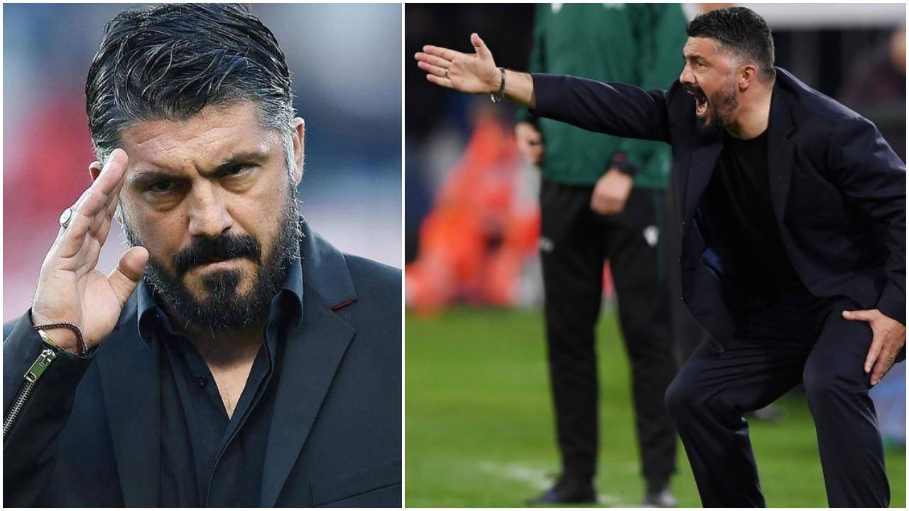"""""""Mjafton, dil jashtë!"""", Gattuso tërbohet dhe largon sulmuesin nga stërvitja"""