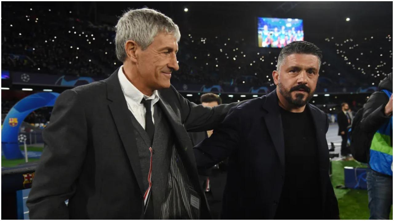 Setien: Gattuso ka krijuar një grup solid, do e kemi vështirë me Napolin