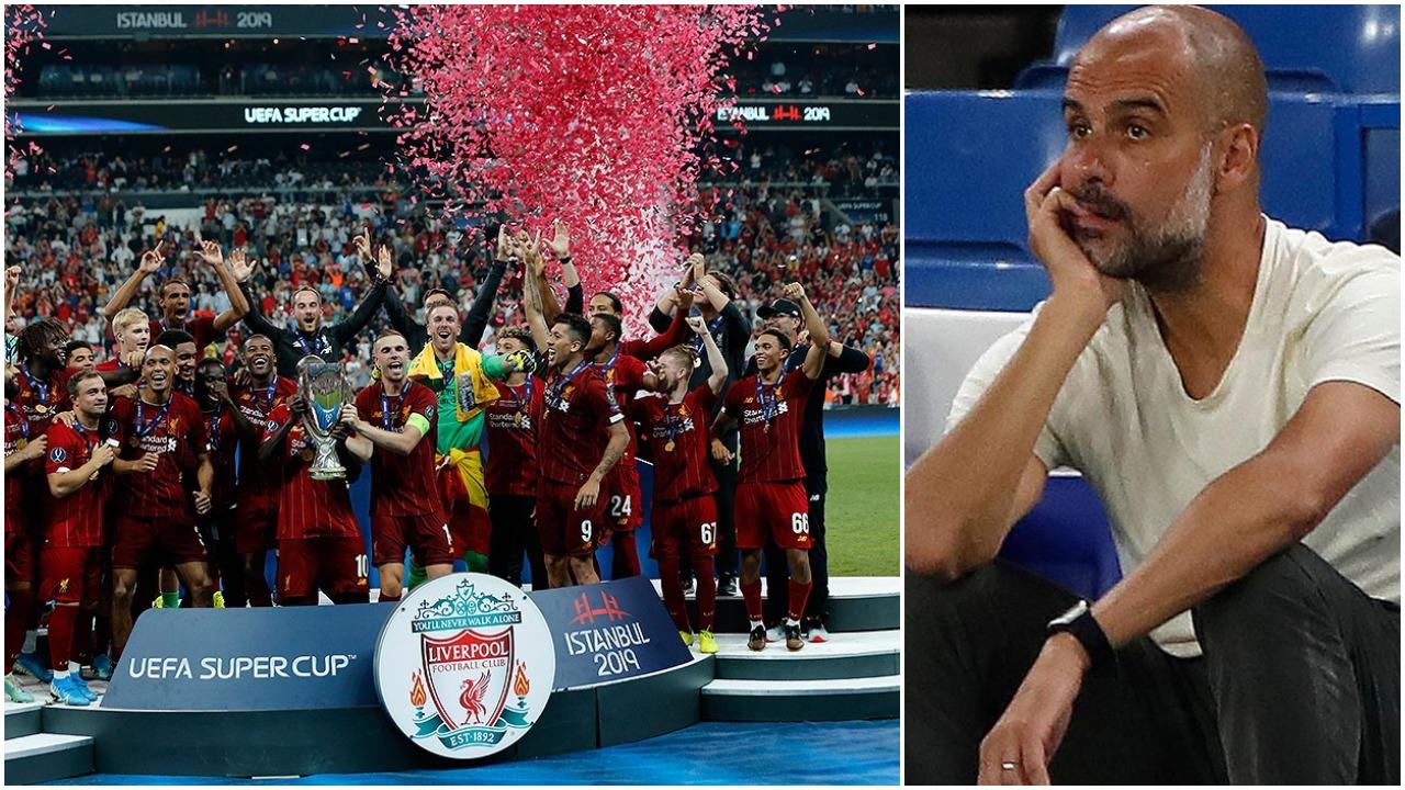 """""""Kishin pirë shumë birra"""", Guardiola ngacmon Liverpoolin pas """"pokerit"""""""
