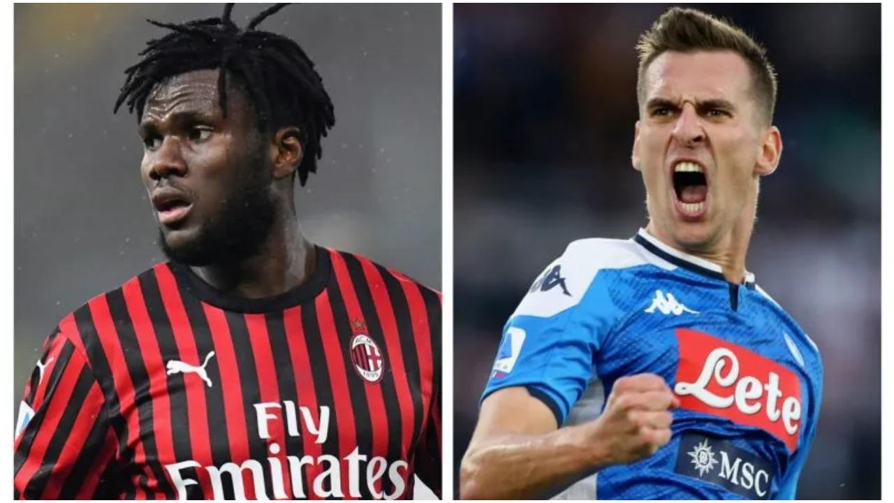 Skenari i fundit nga Italia, Milani dhe Napoli po mendojnë një shkëmbim