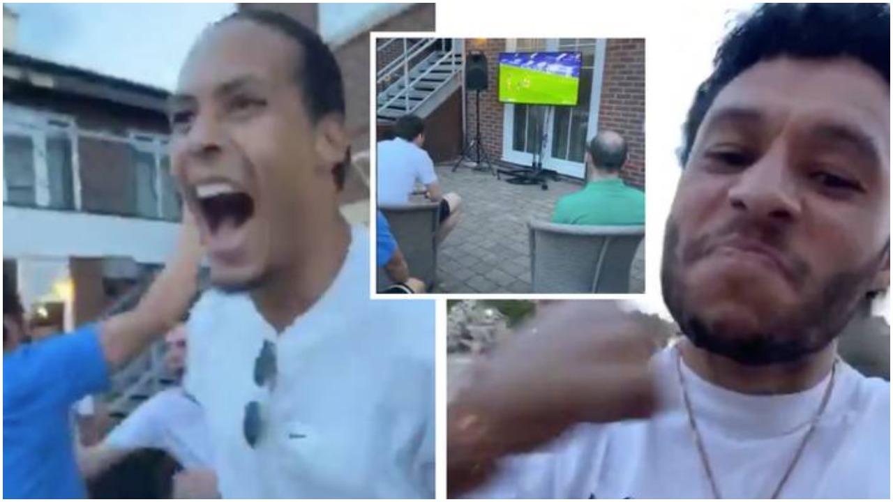 VIDEO/ Momenti i shumëpritur, si e festuan titullin lojtarët e Liverpool