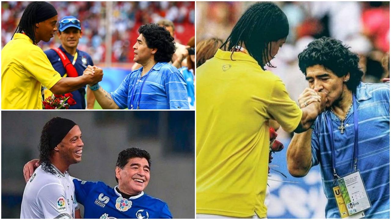 E bujshme: Ronaldinho do të rikthehet si futbollist, kushti është… Maradona