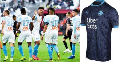 """FOTO/ """"UBER"""" sponsor dhe shtëpia mbi fanellë, uniforma e Marseille bëhet virale"""