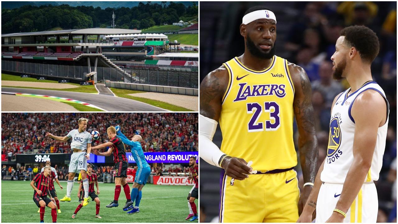Rikthehen futbolli dhe basketbolli në Amerikë, GrandPrix në Itali anulohet!