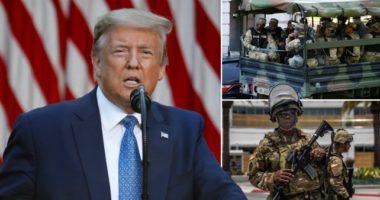 Protestat në SHBA, Trump: Do nxjerr ushtrinë për ta zgjidhur shpejt problemin