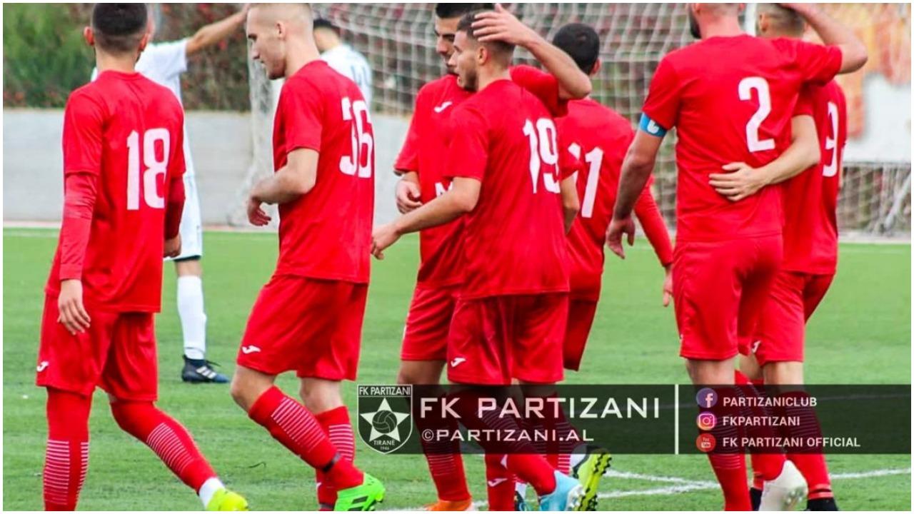 """Partizani B si """"uragan"""", sa shumë gola në Kategorinë e Dytë"""