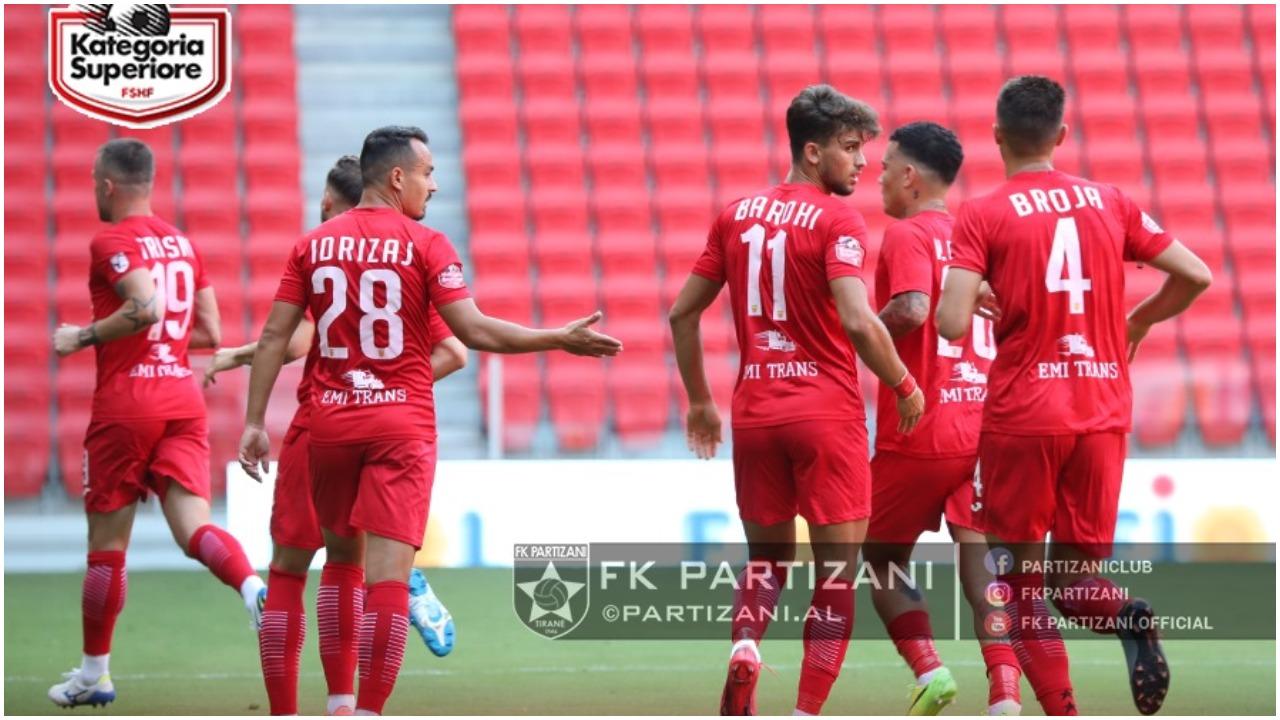 """VIDEO/ Partizani """"nuhat"""" Europën, Flamurtari i shënon 6 gola Luftëtarit"""