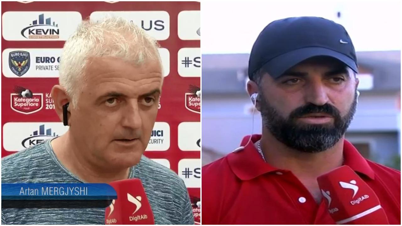 Eliminimi nga Kupa e Shqipërisë, flasin trajnerët e Besëlidhjes dhe Apolonisë
