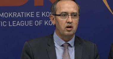 LDK-së publikon emrat e ministrave të rinj në qeverinë Hoti