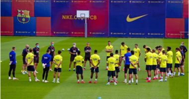 Më në fund të gjithë bashkë, Barcelona i rikthehet stërvitjeve të plota