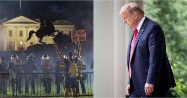 E pranon Trump: Isha te bunkeri nëntokësor gjatë protestës përballë Shtëpisë së Bardhë