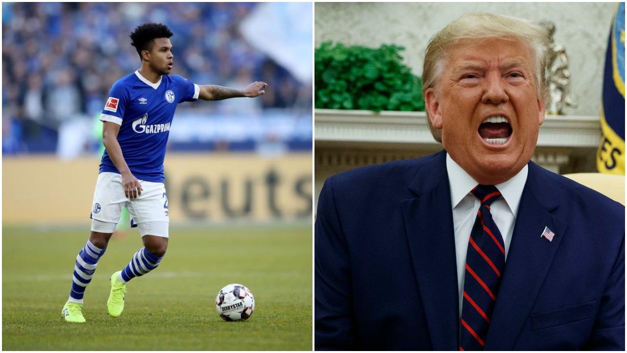 Akuza të forta nga futbollisti i Schalke: Trump s'më pëlqen, është racist!