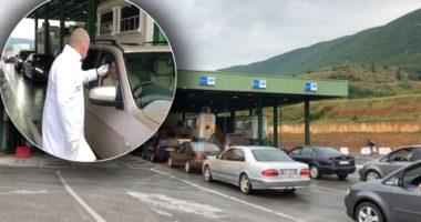 VIDEO / Hapet kufiri me Kosovën, fluks i shtuar automjetesh ne Morinë