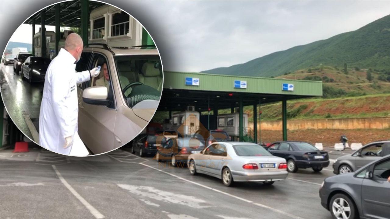 VIDEO/ Hapet kufiri me Kosovën, fluks i shtuar automjetesh ne Morinë