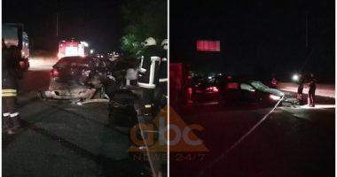 VIDEO/ Aksident masiv në Durrës, plagoset rëndë një person