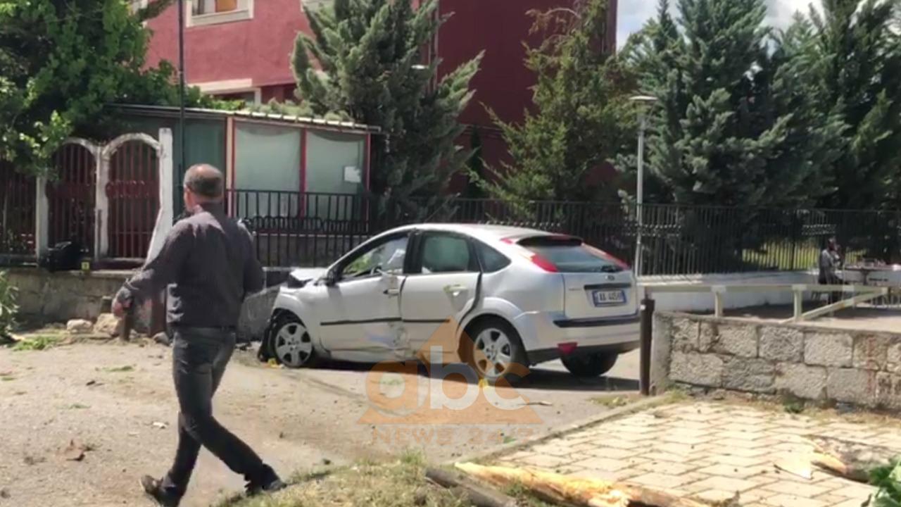 Seri aksidentesh në Korçë: Një shofer del nga rruga, dy të tjerë përplasen me njëri-tjetrin