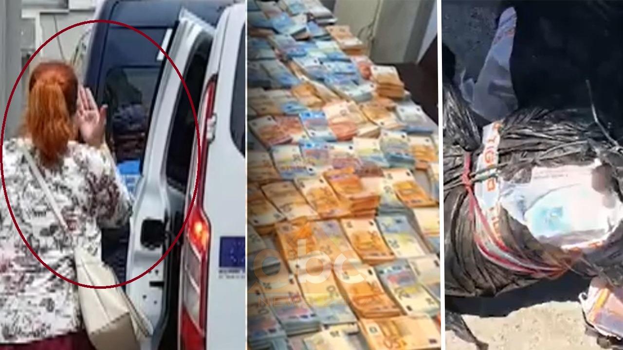 """""""Të dua o jetë"""": Gruaja mbështet """"shoferin e 500 mijë eurove"""" teksa hyn në gjykatë"""