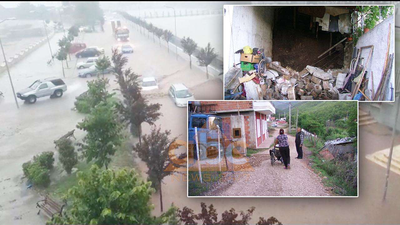 Dëme në Librazhd nga përmbytjet, 15 familje presin dëmshpërblim nga bashkia