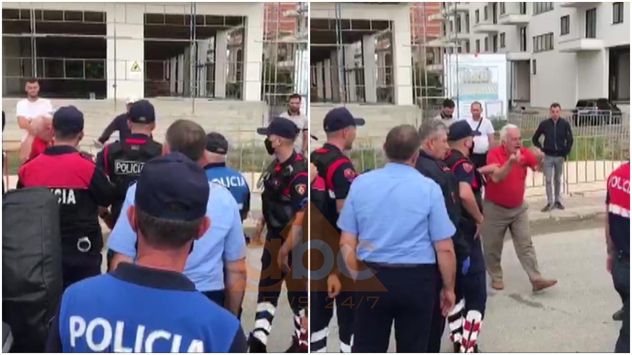 VIDEO/ Aksioni i IKMT në Shëngjin, banorët përplasen me policinë