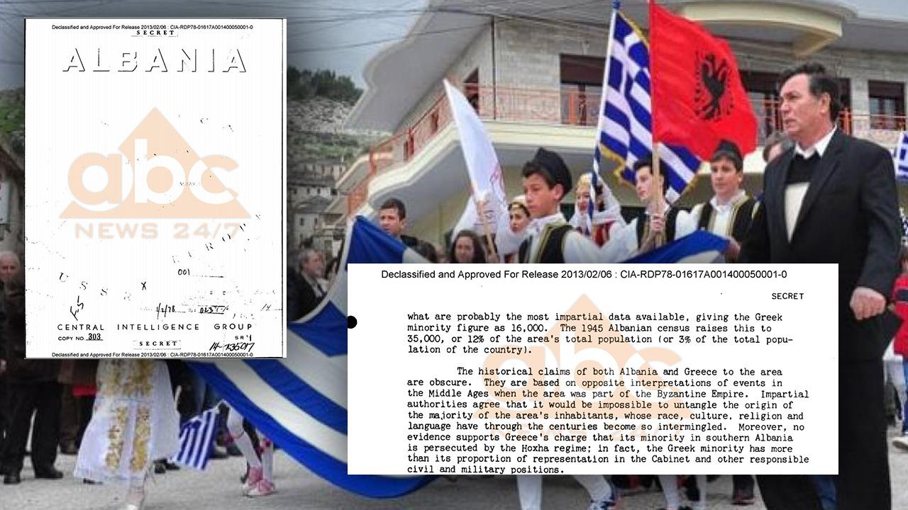 """Dokumenti i CIA/ """"Armiqtë"""" amerikanë më 1978: Minoriteti grek në Shqipëri ka përfituar më tepër se meriton"""